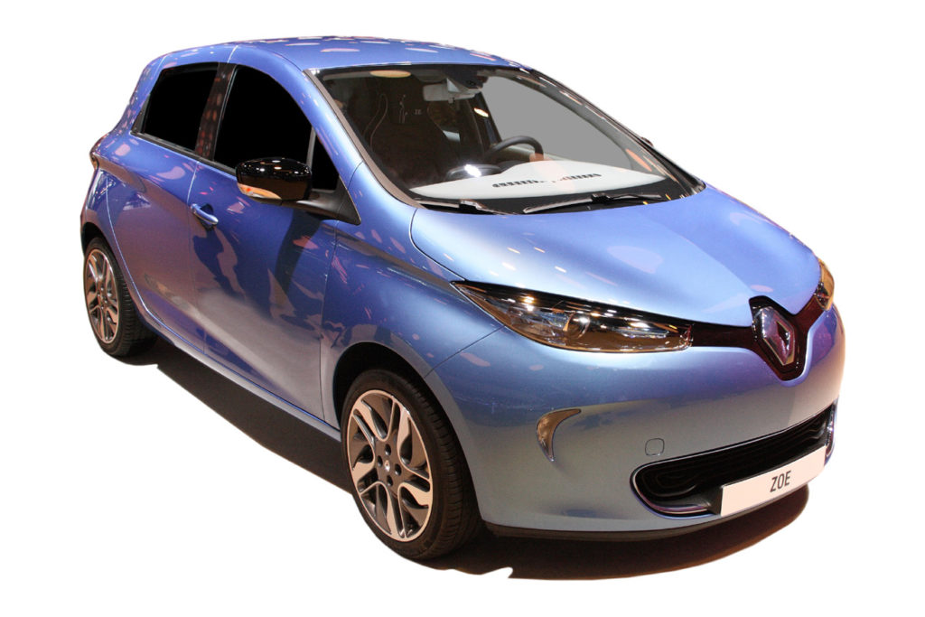 Renault Zoe Hatchback Electric Car