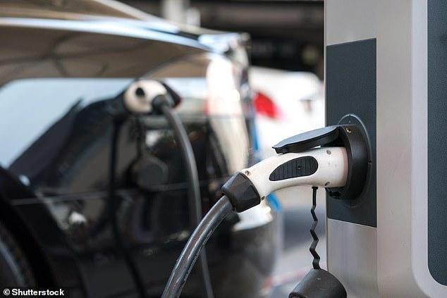 Public EV charging point