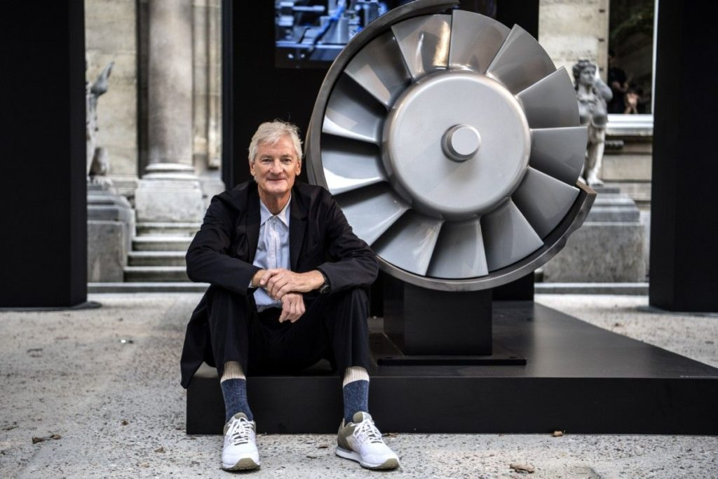 inventor james dyson concerned UK government is not taking his advice to bring forward the ban on petrol and diesel cars
