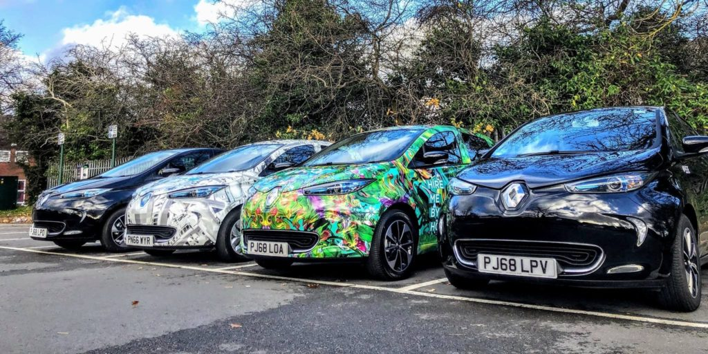 public electric car sharing scheme Birmingham