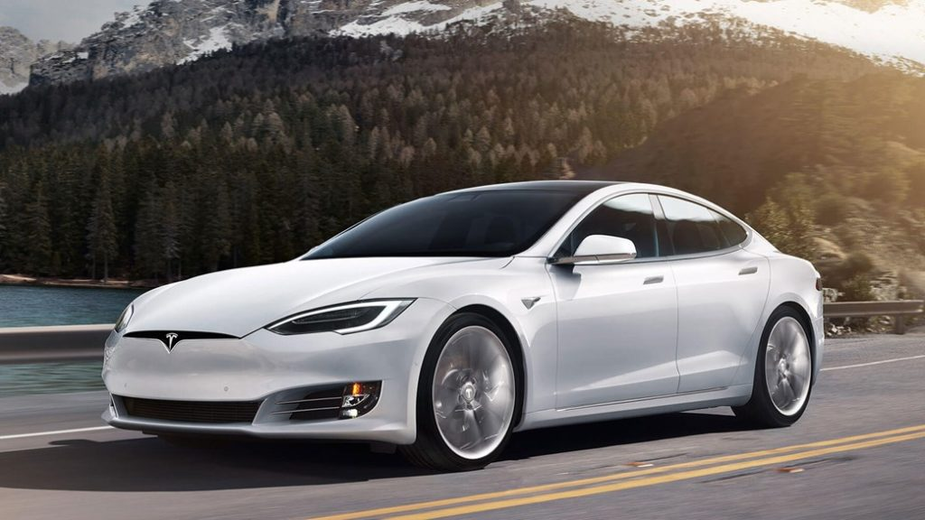 Tesla Model S Long Range electric car