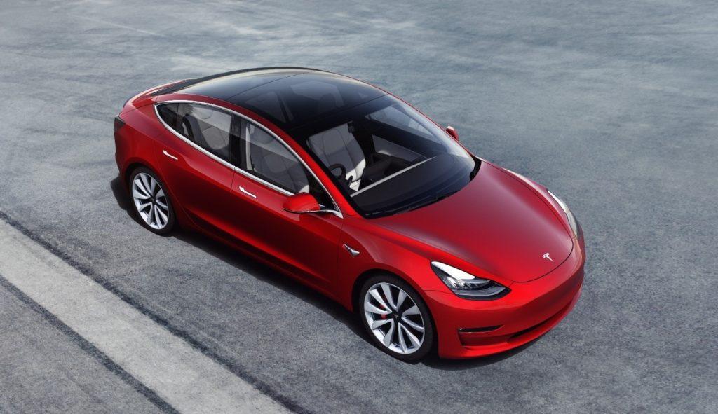 Tesla Model 3 order book