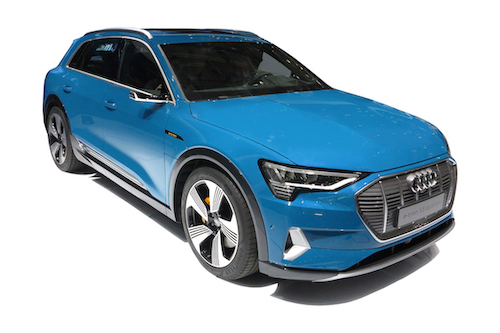audi e tron electric SUV