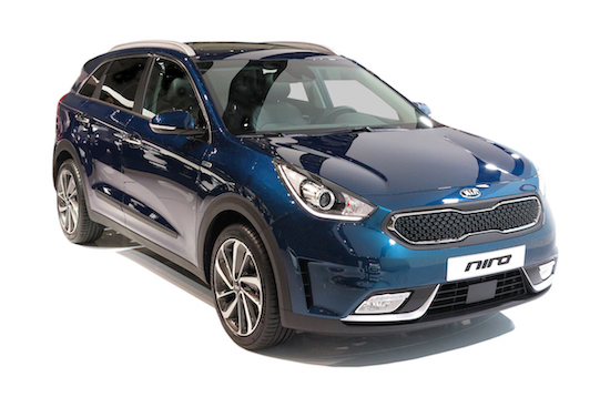 kia e niro electric car