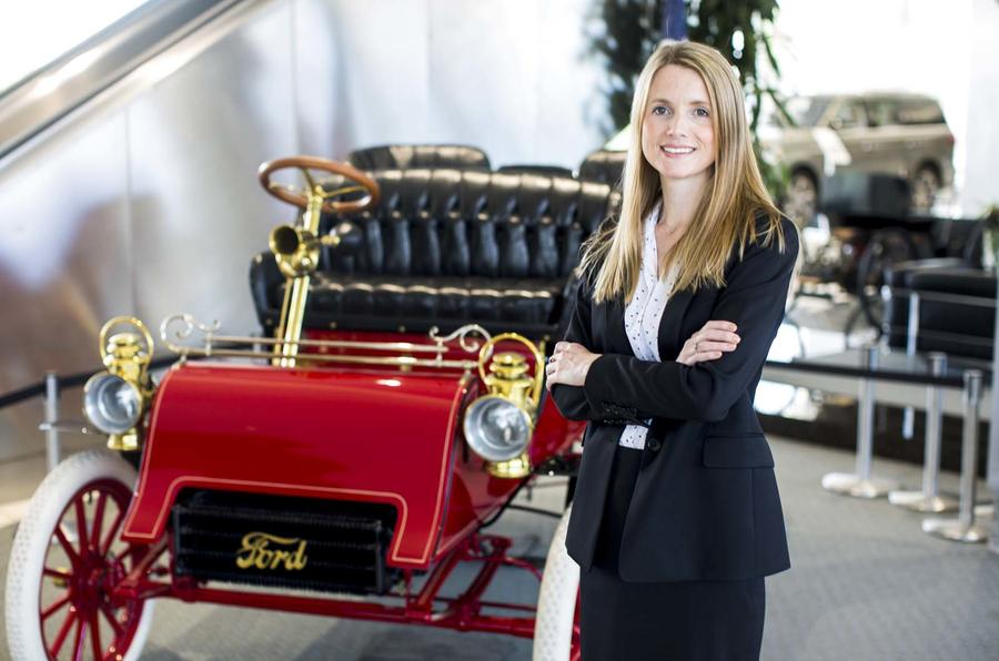 Emma King Ford electric car battery purchasing manager