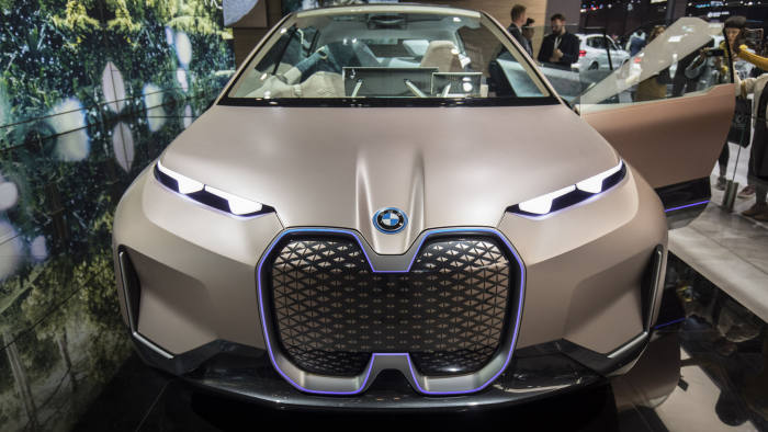 BMW Vision iNext Electric Sport Utility Vehicle