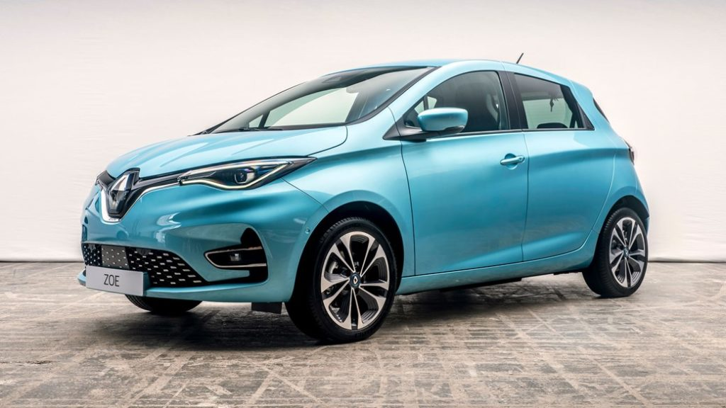 New Renault Zoe electric car 2019