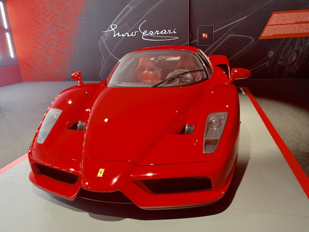 enzo ferrari sports car