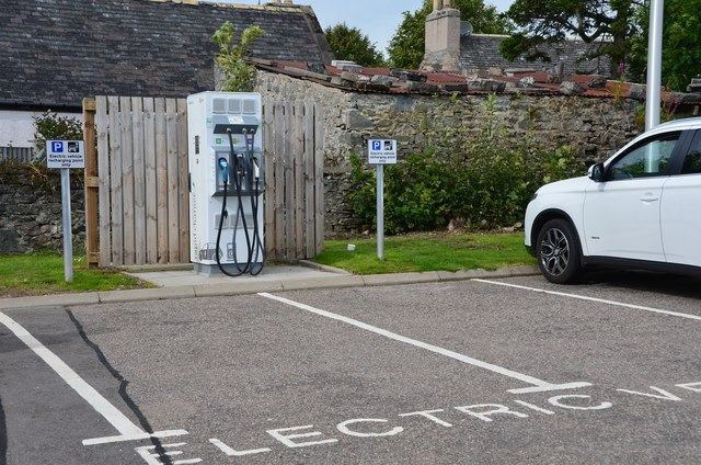 Electric Car Public Charging Infrastructure