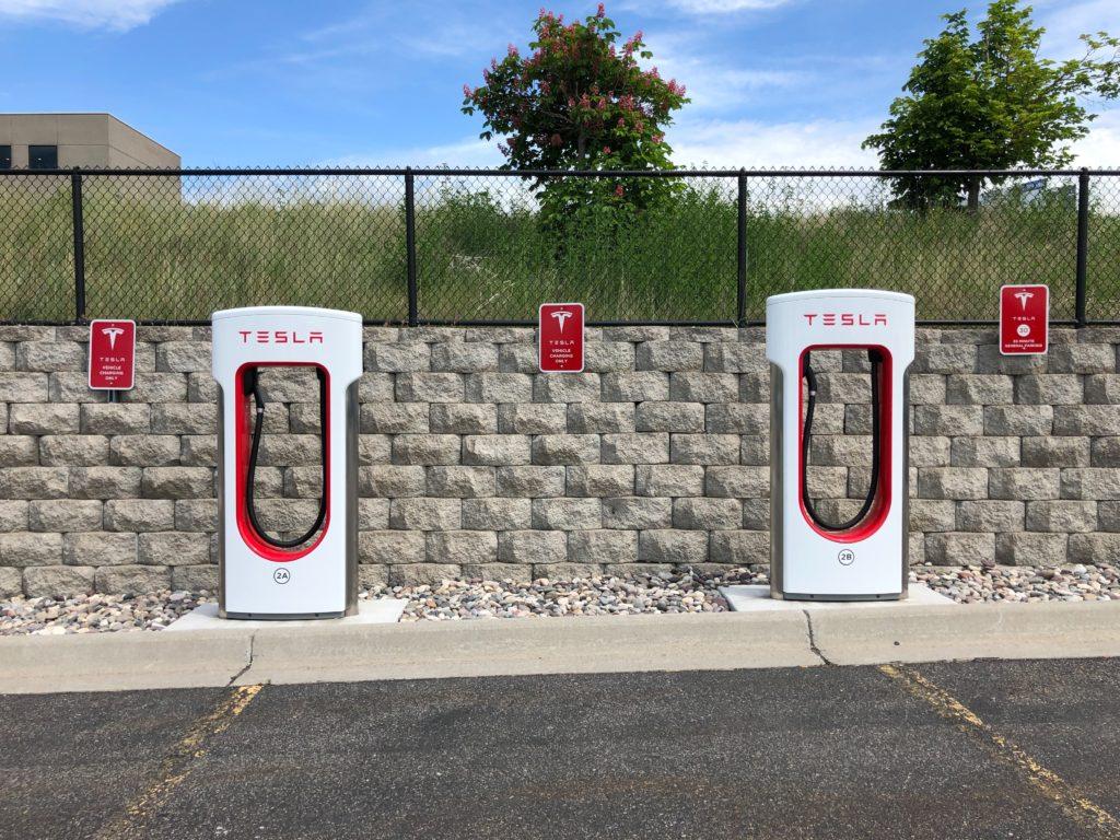Tesla EV Charging Network