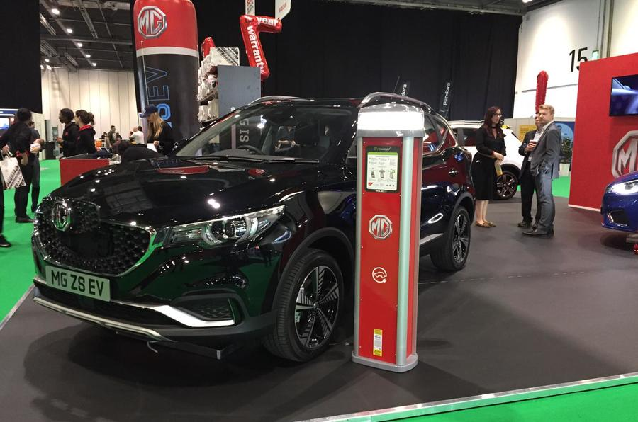 MG all electric electric vehicle ZS
