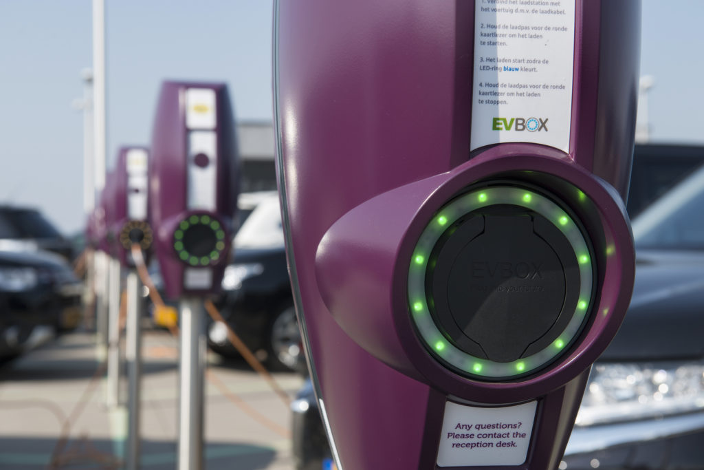 EVBox electric vehicle charging