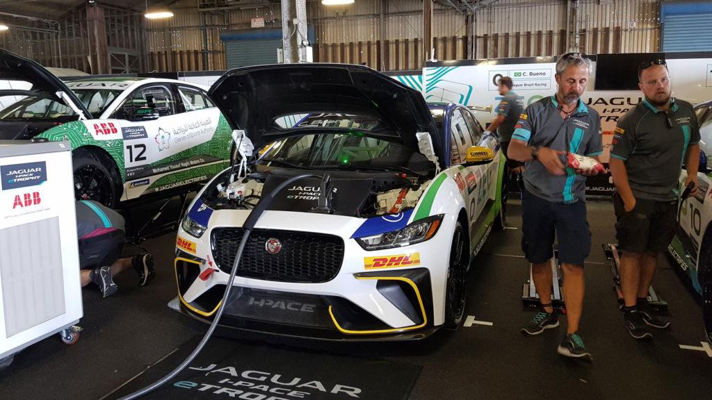 Formula e electric car races