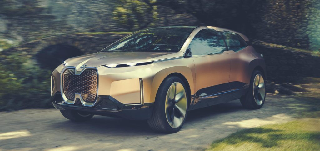 BMW iNext electric car concept