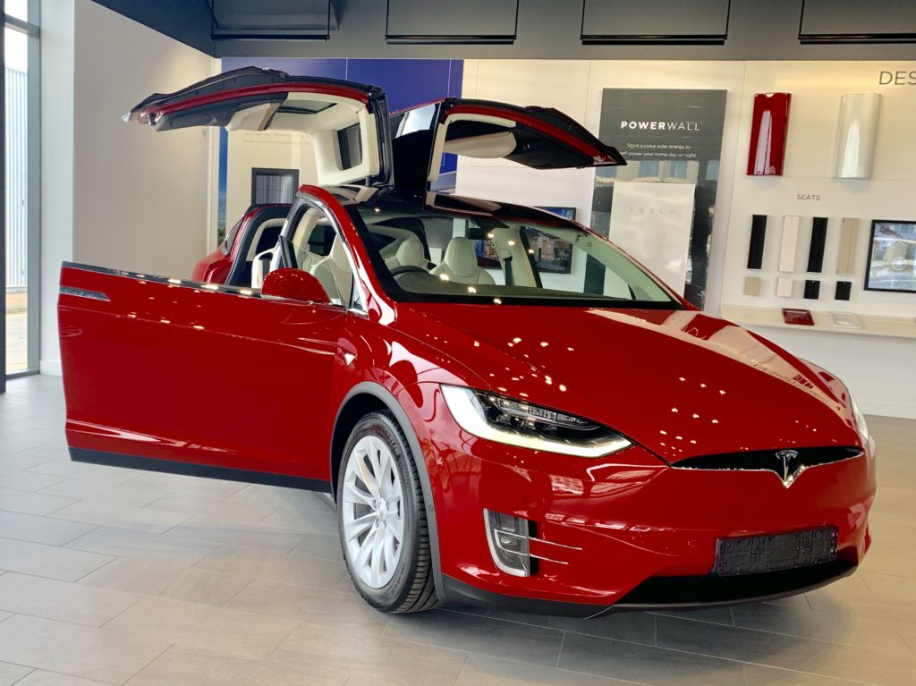 Tesla Model X all electric SUV