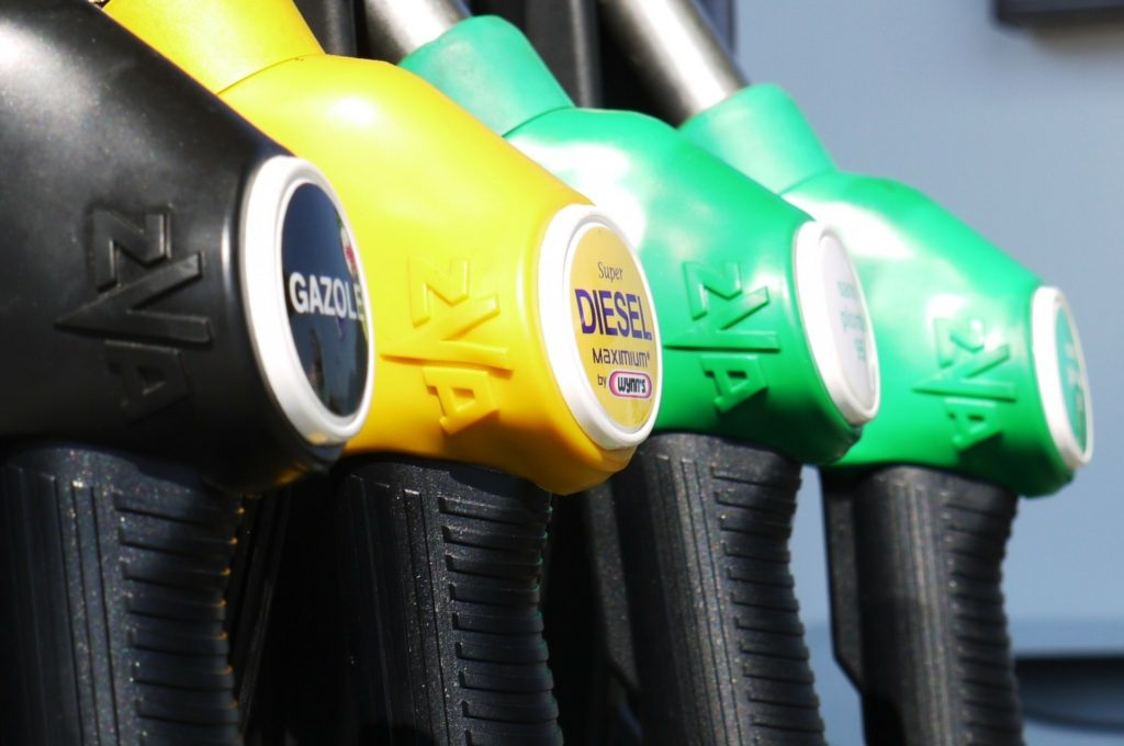 petrol and diesel filling stations