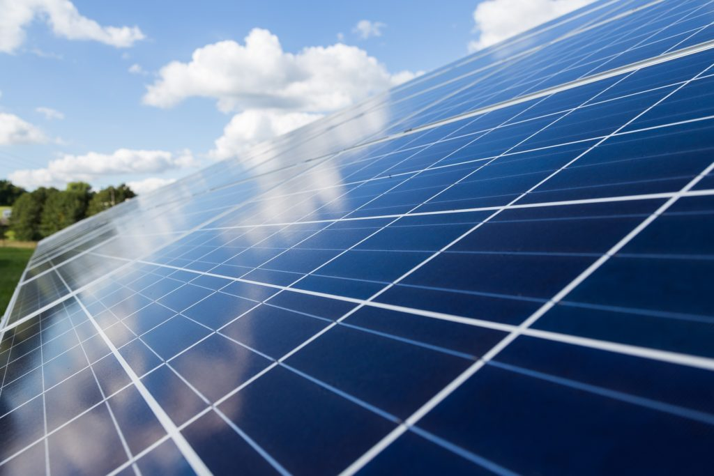 solar modules and renewable green energy