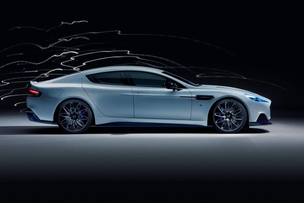 Aston Martin Rapide E electric vehicle