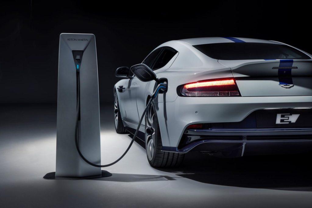 Aston Martin Rapide E all electric car