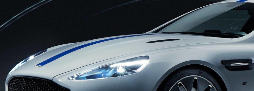 Aston martin rapide e electric vehicle