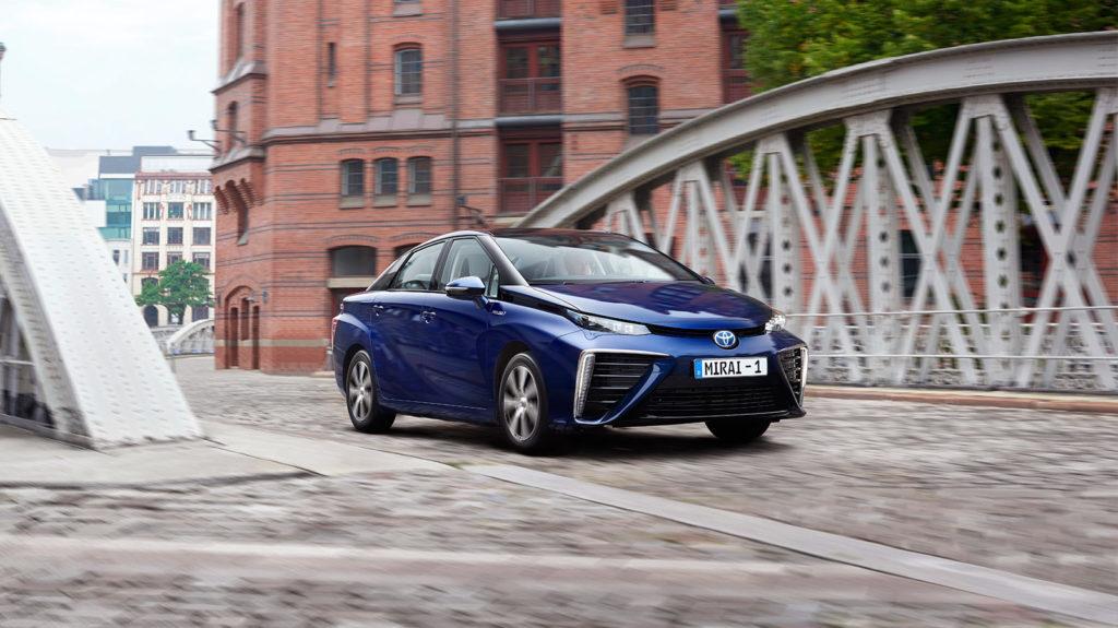 Toyota Mirai Hydrogen-Fuelled Electric Car FCEV