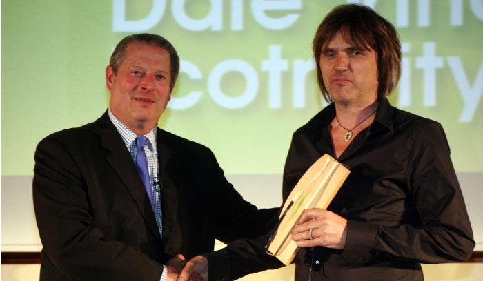 Dale Vince And Al Gore