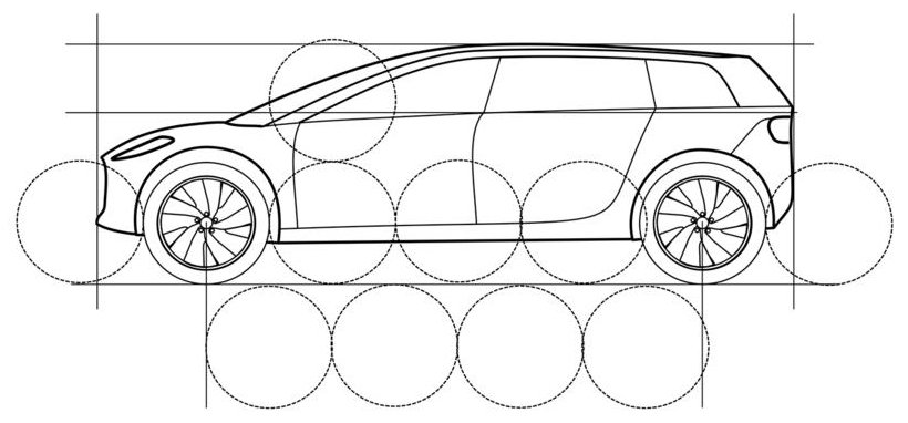 Dyson Electric Car Drawing