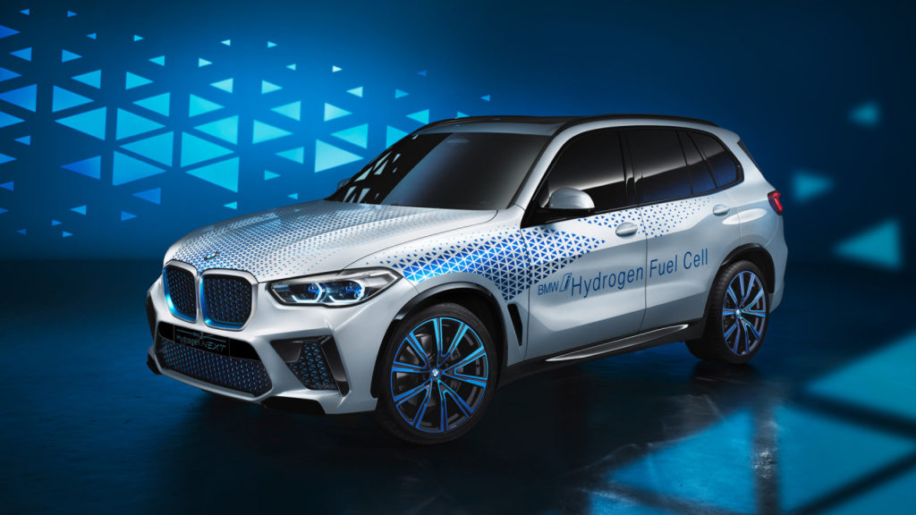 BMW i hydrogen next fuel cell electric car