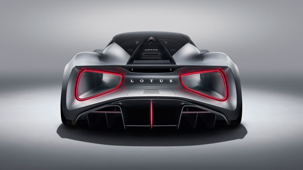 The Lotus Evija Pure Electric Hypercar (credit: Lotus)