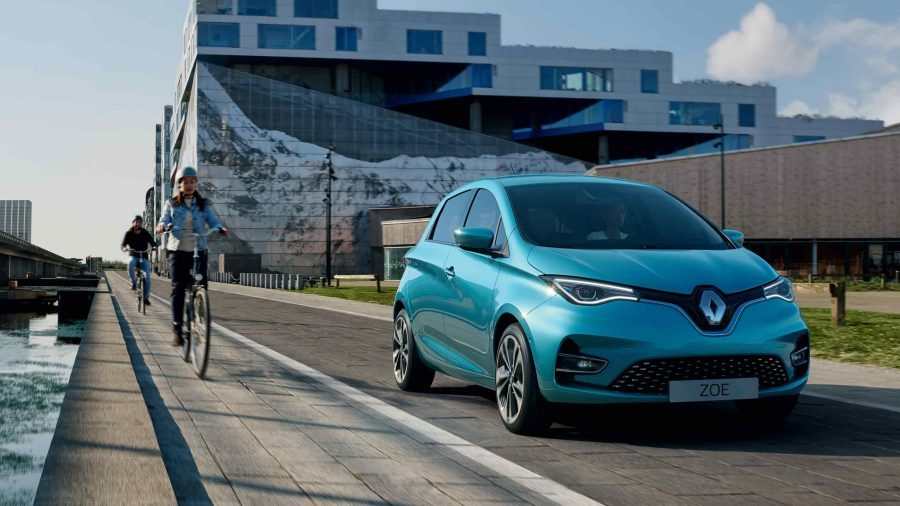 New 100% electric renault zoe