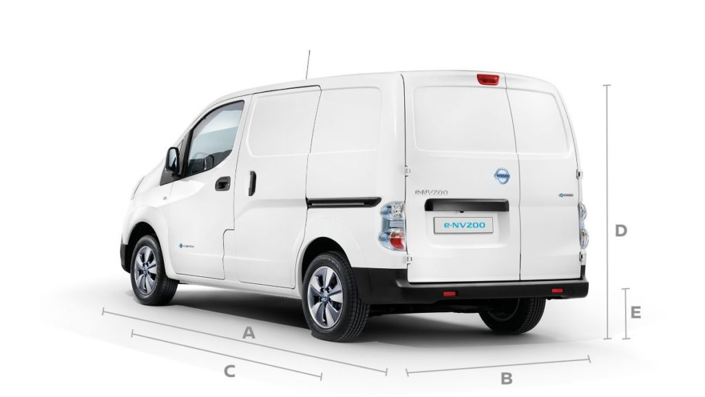 Nissan electric e-NV200 van