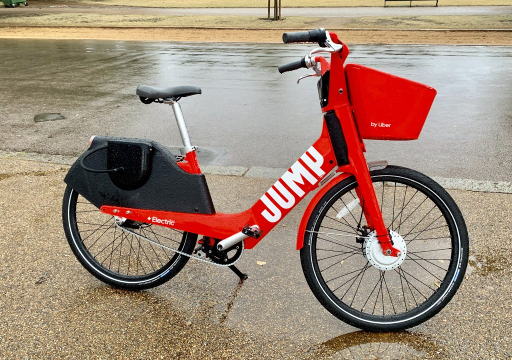 Jump Electric Bike Sharing Scheme