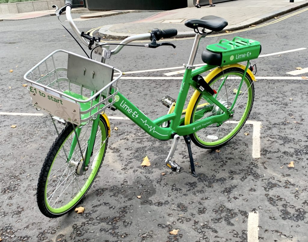 Lime Electric Bike Sharing Scheme