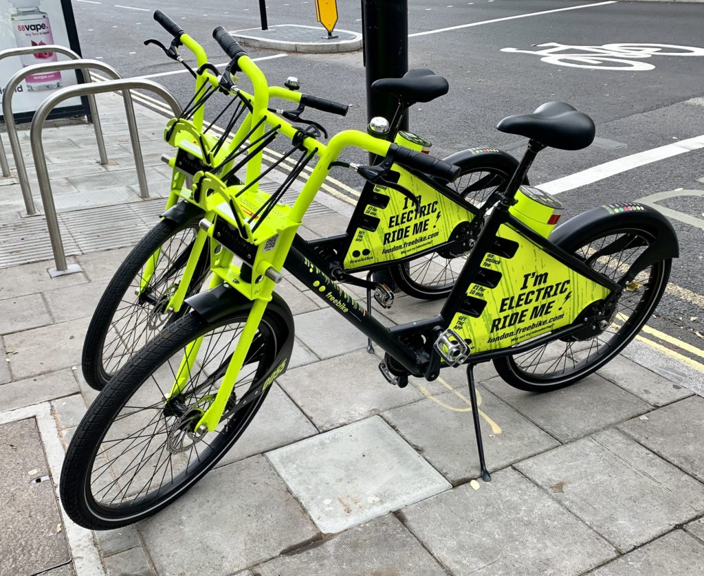 Freebike Electric Bike Sharing Scheme