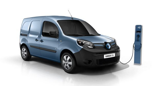 All-Electric Renault KANGOO Z.E. 33 Van