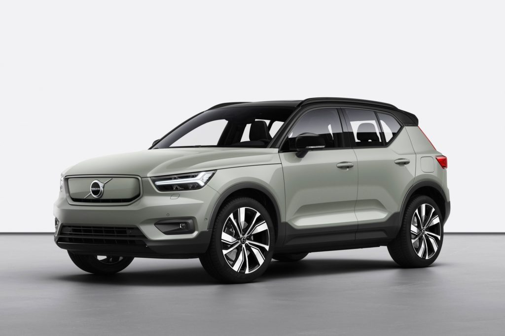 The All-Electric Volvo XC40 Recharge SUV