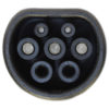 Ohme electric car charging cable commando to type 2
