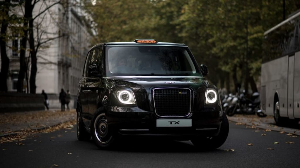 LEVC TX electric taxi London