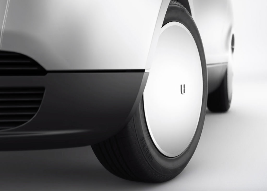 The All-Electric Uniti One city car