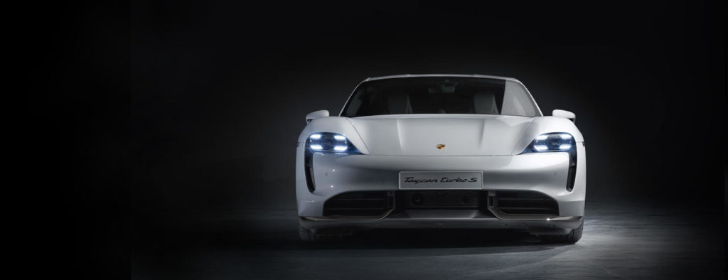 The All-Electric Porsche Taycan