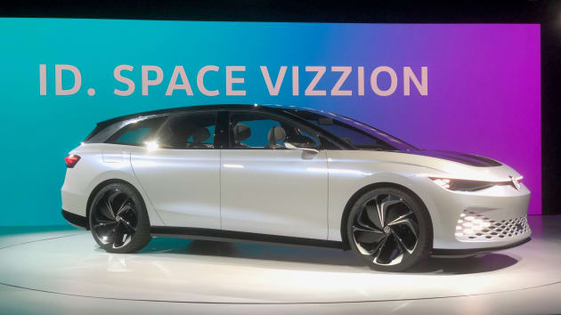 VW ID Space Vizzion electric car