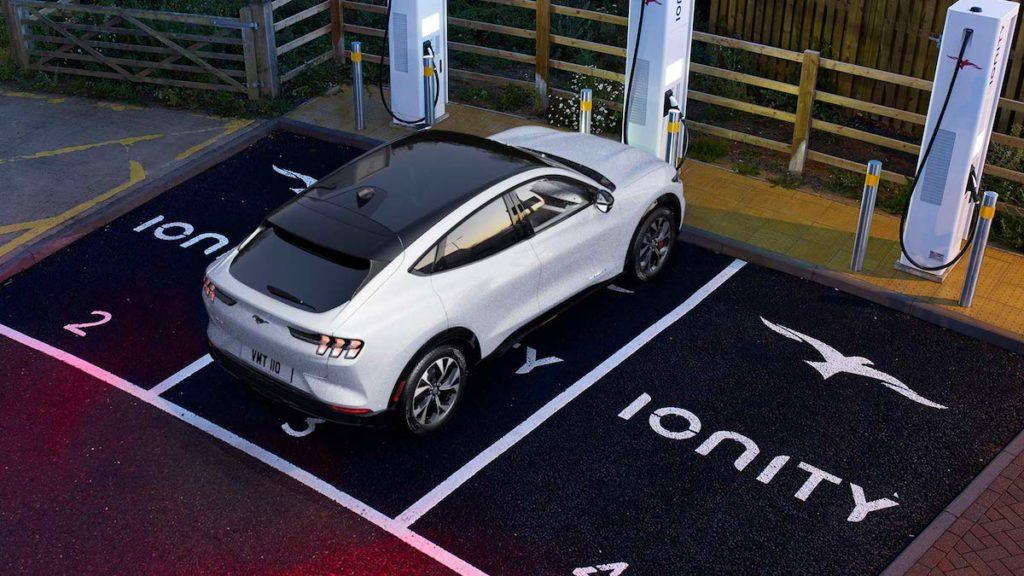 The All-Electric Ford Mach-e SUV