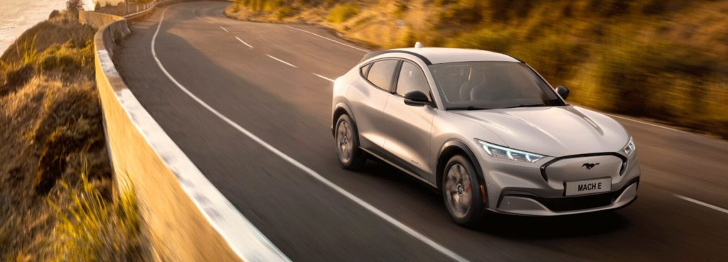 Ford electric Mustang Mach e SUV