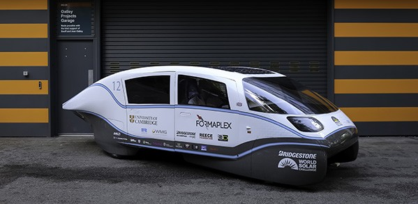 Cambridge University Eco Racing Electric Car