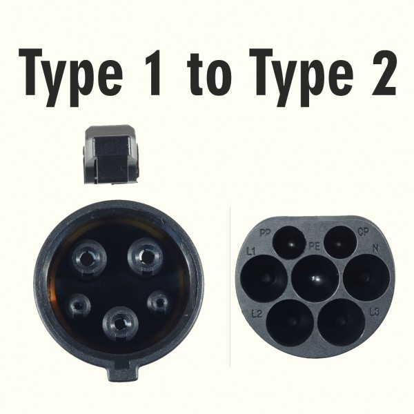 Charging Cable Type 1 to Type 2