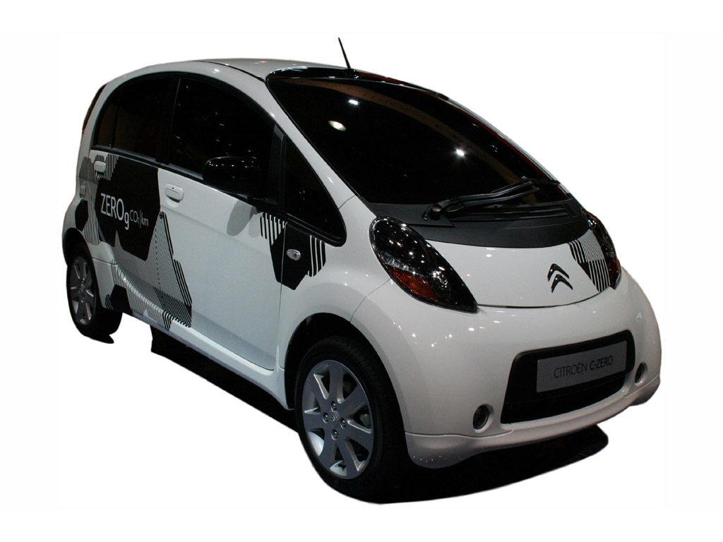 Citroen C Zero electric car