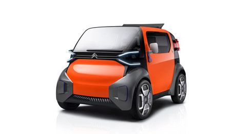 Citroen Ami One concept electric car