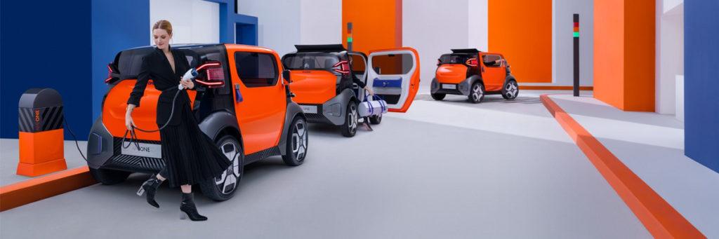 Citroen Ami One concept electric car