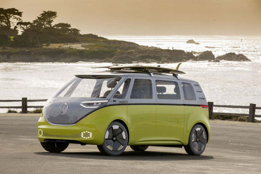 VW ID Buzz electric campervan