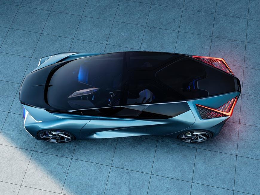 Lexus LF 30 electrified electric car concept
